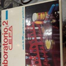 Juegos educativos: JUEGO LABORATORIO 2 DE CEFA. Lote 193781355