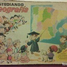 Juegos educativos: ESTUDIANDO GEOGRAFIA. Lote 193790567