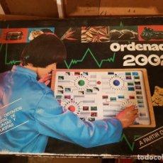 Juegos educativos: JUEGO ORDENADOR 2002 ORIGINAL JUGUETE DE GRAINES. Lote 193807311