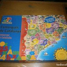 Juegos educativos: COMARQUES DE CATALUNYA. Lote 193834236