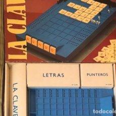 Juegos educativos: LA CLAVE. Lote 193873520