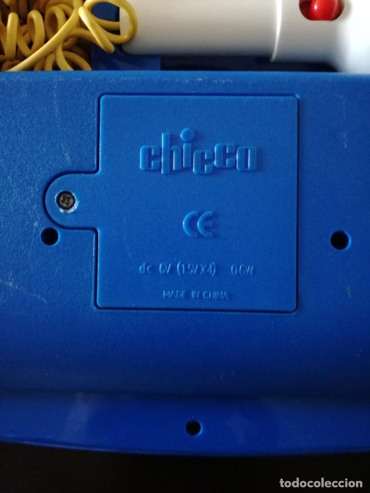 Juegos educativos: CHICCO DE COLECCIÓN PIANO PARA NIÑOS A PILAS TECLADO,MICRÓFONO, MÚSICA ACOMPAÑAMIENTO. MUY BIEN - Foto 4 - 193947302