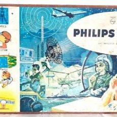 Juegos educativos: PHILIPS ELECTRONIC ENGINEER, TAPA DE JUEGO DE LOS AÑOS 50. Lote 193988767