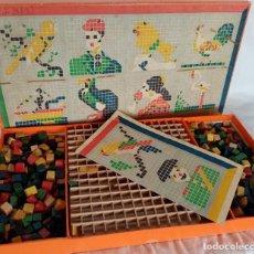 Juegos educativos: JUEGO DE CONSTRUCCIÓN DE LOS AÑOS 50. Lote 194060415