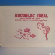 Juegos educativos: ASCOBLOC IDEAL. MADE IN FRANCE.. Lote 219855910