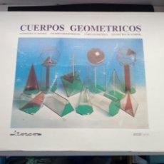 Juegos educativos: CUERPOS GEOMETRICOS. GRUPO ANAYA. CAJA CON 16 PIEZAS.. Lote 194231410