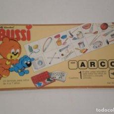 Juegos educativos: JUEGO EDUCATIVO MINI ARCO *BUSSI* CUADERNO 1 . REF: 505035 . AÑOS 90 - SIN USO RESTOS DE ALMACEN. Lote 194232378