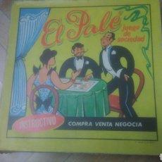 Juegos educativos: EL PALE. JUEGO EDUCATIVO. MUY BIEN CONSERVADO. VER FOTOS.. Lote 194253562