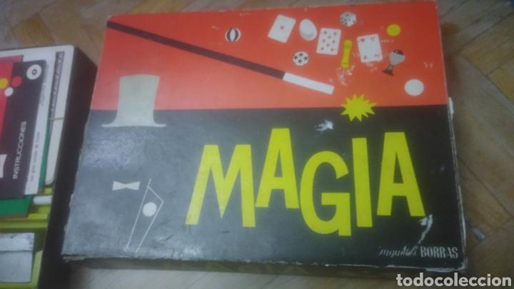 MAGIA BORRAS. NUMERO 0. AÑOS 60. BIEN CONSERVADA. VER FOTOS. CON FOLLETOS INCLUIDOS DE INSTRUCCIONES (Juguetes - Juegos - Educativos)