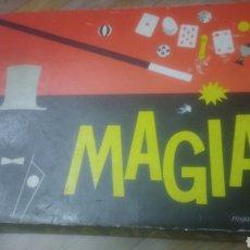 Juegos educativos: MAGIA BORRAS. NUMERO 0. AÑOS 60. BIEN CONSERVADA. VER FOTOS. CON FOLLETOS INCLUIDOS DE INSTRUCCIONES. Lote 194253991