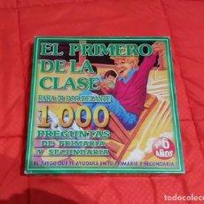 Juegos educativos: JUEGO EDUCATIVO PARA PRIMARIA Y SECUNDARIA: EL PRIMERO DE LA CLASE. Lote 194289967