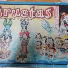 Juegos educativos: ANTIGUO JUGUETE PIRUETAS N°2 BORRAS MATARO MAGIA. Lote 194318908