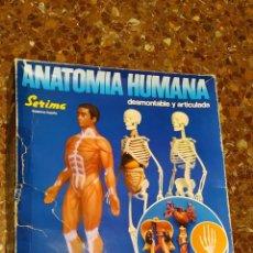 Juegos educativos: ANATOMIA HUMANA DE SERIMA. Lote 194343800