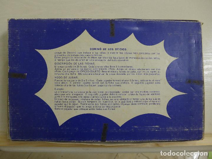 Juegos educativos: DOMINO DE LOS OFICIOS - DOMINO ASOCIACION DE IDEAS - JUGUETES EDUCATIVOS PIQUE REF. 185 - Foto 2 - 194492035