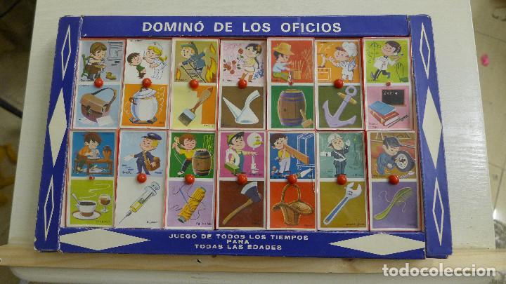 Juegos educativos: DOMINO DE LOS OFICIOS - DOMINO ASOCIACION DE IDEAS - JUGUETES EDUCATIVOS PIQUE REF. 185 - Foto 9 - 194492035