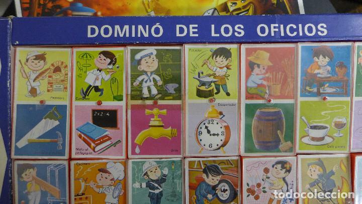 Juegos educativos: DOMINO DE LOS OFICIOS - DOMINO ASOCIACION DE IDEAS - JUGUETES EDUCATIVOS PIQUE REF. 185 - Foto 11 - 194492035