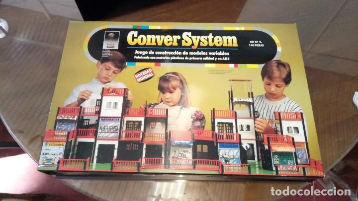 JUEGO DE CONSTRUCCIÓN CONVER SYSTEM KIT Nº 2 140 PIEZAS (Juguetes - Juegos - Educativos)