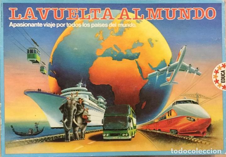 LA VUELTA AL MUNDO. EDUCA. AÑOS 80 (Juguetes - Juegos - Educativos)