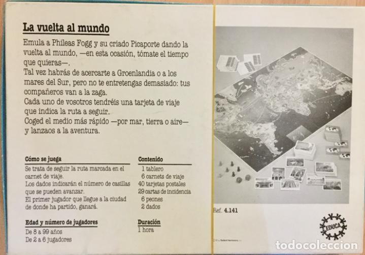 Juegos educativos: La vuelta al mundo. Educa. Años 80 - Foto 3 - 194514182