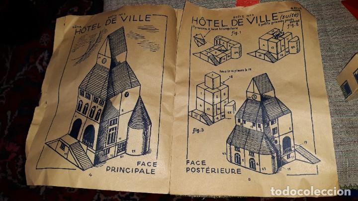 Juegos educativos: antiguo juego de arquitectura geometrica en madera años 50. batir par elements geometriques - Foto 21 - 194693818