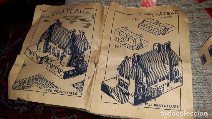 Juegos educativos: antiguo juego de arquitectura geometrica en madera años 50. batir par elements geometriques - Foto 23 - 194693818