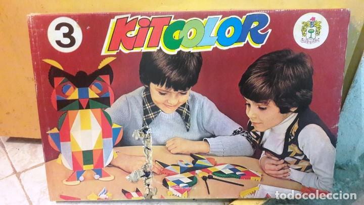 JUEGO KIT COLOR KITCOLOR DE JUGUETES PIQUE 3. NUEVO (Juguetes - Juegos - Educativos)