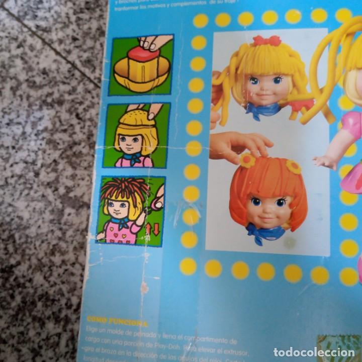 Juegos educativos: Caja vacía Mis peinados preferidos Play-Doh. Hasbro Kenner 1997 - Foto 4 - 194785200
