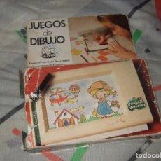 Juegos educativos: JUEGOS DE DIBUJO PAISAJES Y MUÑECAS DE GEYPER MADE IN SPAIN (COMPLETO). Lote 194890617
