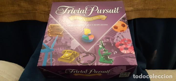 PARKER TRIVIAL PURSUIT GENUS EDICIÓN III PRACTICAMENTE NUEVO. LEER (Juguetes - Juegos - Educativos)