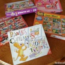 Juegos educativos: LOTE DE JUEGOS EDUCATIVOS . Lote 194939011