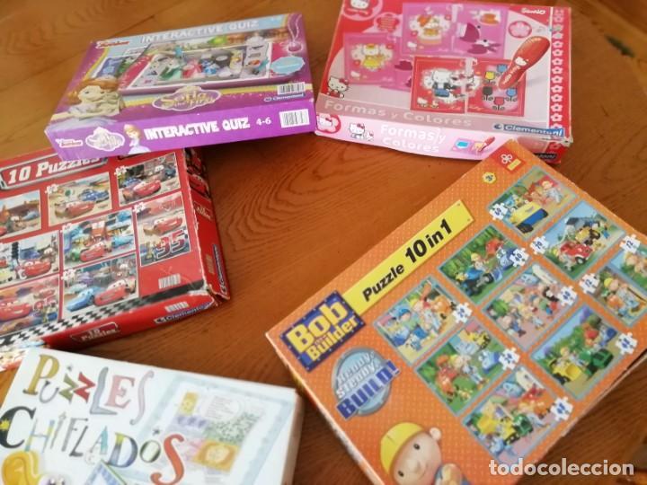 Juegos educativos: Lote de juegos educativos - Foto 2 - 194939011