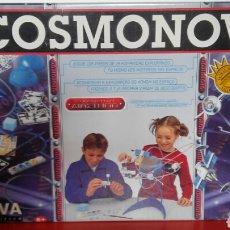 Juegos educativos: COSMONOVA GLOBO TERRÁQUEO EN 3D,ÓRBITAS Y SATÉLITES.MEDITERRÁNEO NOVA 1999 NUEVO EN CAJA.. Lote 195358908
