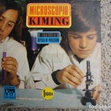 Juegos educativos: MICROSCOPIO KIMING METÁLICO OPTICA DE PRECISIÓN 1100X - PRECINTADO - POCH. Lote 195470422