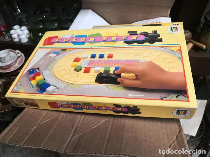 Juegos educativos: Curioso juego de mesa COLOR TREN DE DISET AÑO 1988 NUEVO EN SU CAJA - Foto 4 - 195588486