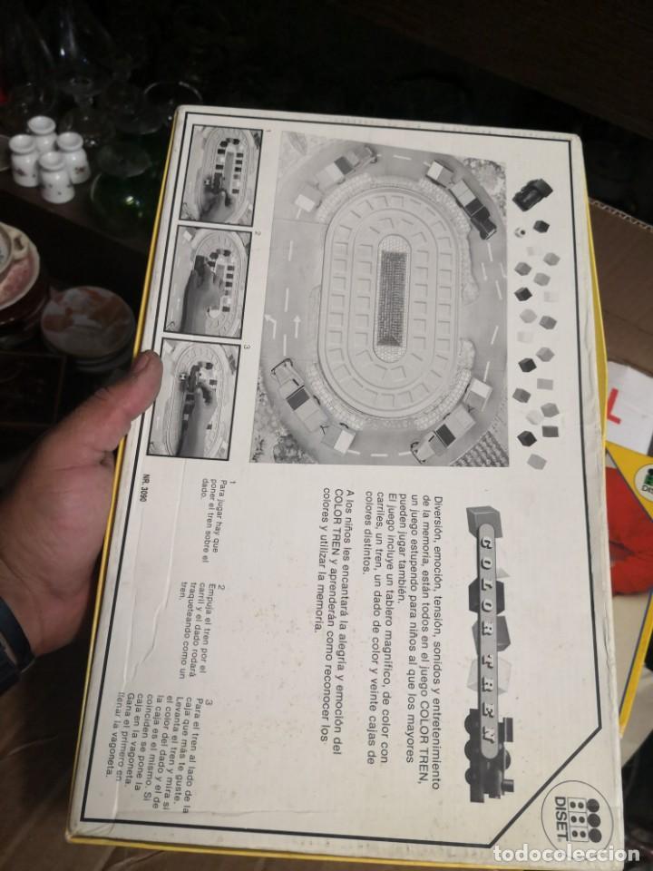 Juegos educativos: Curioso juego de mesa COLOR TREN DE DISET AÑO 1988 NUEVO EN SU CAJA - Foto 5 - 195588486