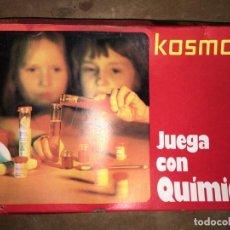 Juegos educativos: JUEGA CON QUIMICA KOSMOS - FELP SA. Lote 196001493