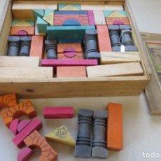 Juegos educativos: ANTIGUO JUEGO CONSTRUCCION - ARQUITECTURA DE MADERA. Lote 196174348