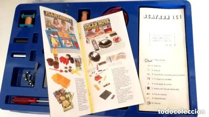 Juegos educativos: Juego Scatron LS1 Introducción Electricidad Trofeo Prestigio Comercial 1988 Juegos Scala Ref. 222 - Foto 5 - 196619832