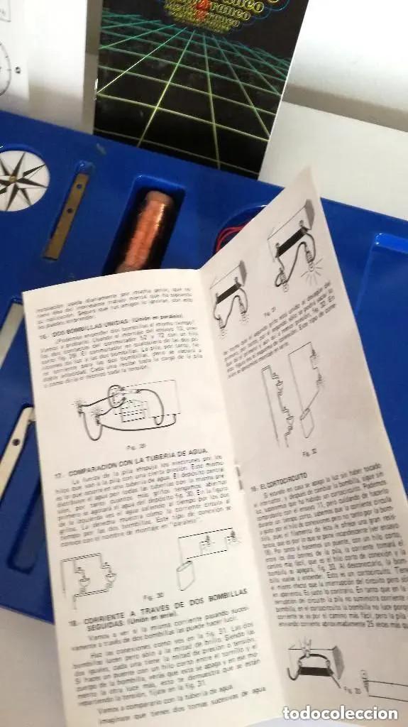 Juegos educativos: Juego Scatron LS1 Introducción Electricidad Trofeo Prestigio Comercial 1988 Juegos Scala Ref. 222 - Foto 7 - 196619832