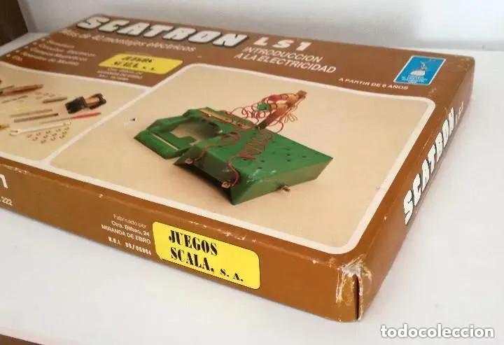 Juegos educativos: Juego Scatron LS1 Introducción Electricidad Trofeo Prestigio Comercial 1988 Juegos Scala Ref. 222 - Foto 9 - 196619832