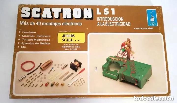 Juegos educativos: Juego Scatron LS1 Introducción Electricidad Trofeo Prestigio Comercial 1988 Juegos Scala Ref. 222 - Foto 10 - 196619832