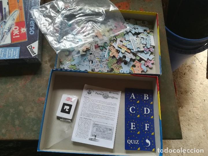 Juegos educativos: LOS PUZLES GEOGRÁFICOS. EUROPA. VICENS VIVESDOBLE CARA - Foto 4 - 197128966