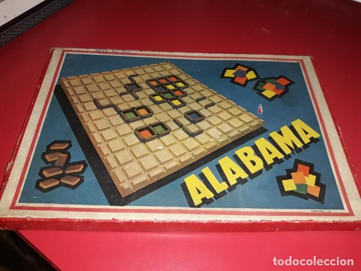 Juegos educativos: Juego muy antiguo Alabama. Hermes I.G. .Comprado en Barcelona ,desconozco la fecha. - Foto 3 - 197193146