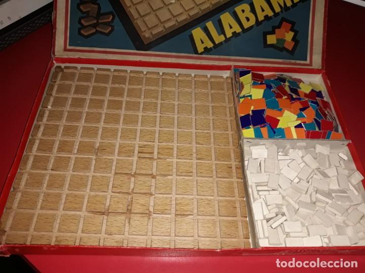 Juegos educativos: Juego muy antiguo Alabama. Hermes I.G. .Comprado en Barcelona ,desconozco la fecha. - Foto 2 - 197193146