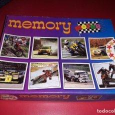 Juegos educativos: MEMORY MOTOR. EDUCA. FABRICADO EN ESPAÑA HERMANOS SALLENT. 1989. COMPLETO. Lote 197215588