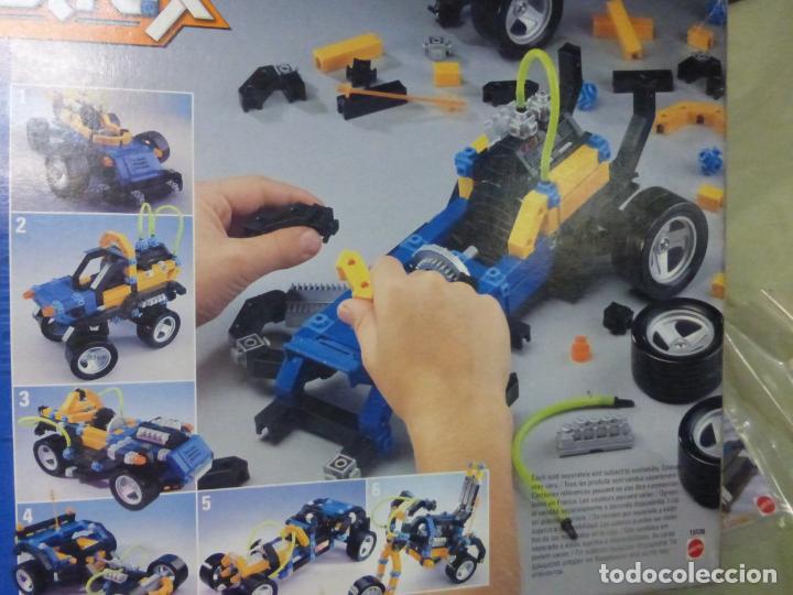 Juegos educativos: Juego de construcción CONSTRUX 4x4 RACERS de Mattel - COCHE DE CARRERAS - Foto 2 - 197506672