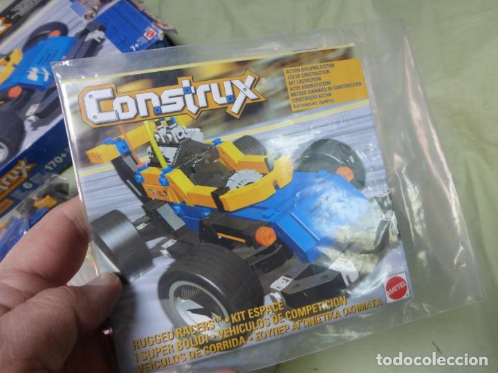 Juegos educativos: Juego de construcción CONSTRUX 4x4 RACERS de Mattel - COCHE DE CARRERAS - Foto 4 - 197506672