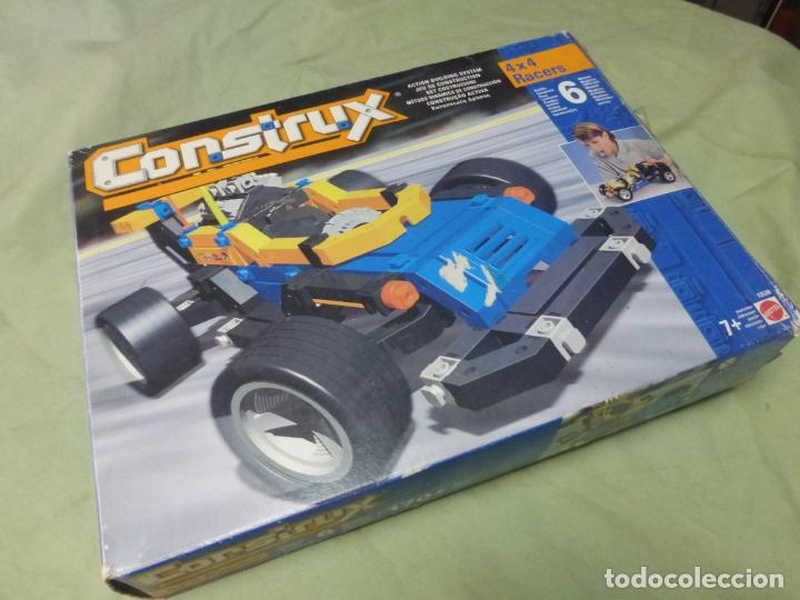 Juegos educativos: Juego de construcción CONSTRUX 4x4 RACERS de Mattel - COCHE DE CARRERAS - Foto 11 - 197506672