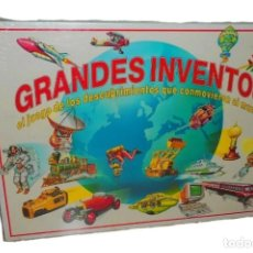 Juegos educativos: JUEGO DE MESA GRANDES INVENTOS EDUCA 1992 REF. 4282 A PARTIR DE 10 AÑOS. Lote 147157358