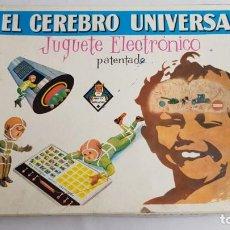 Juegos educativos: EL CEREBRO UNIVERSAL JUGUERE ELECTRONICO PATENTADO. Lote 198666328